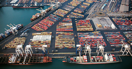 Port operations is suspended in Durban, South Africa